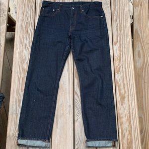 Dark blue Uniqlo jeans